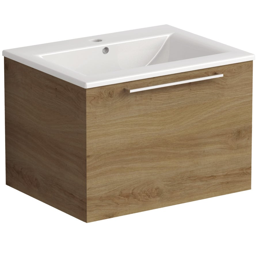 Akido 600 1 Drawer Unit Cortina with Akido Basin