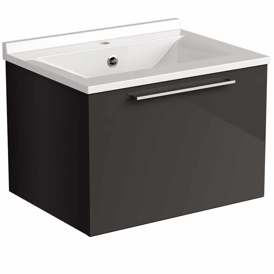 Akido 600 1 Drawer Unit Stardust with SMO Basin