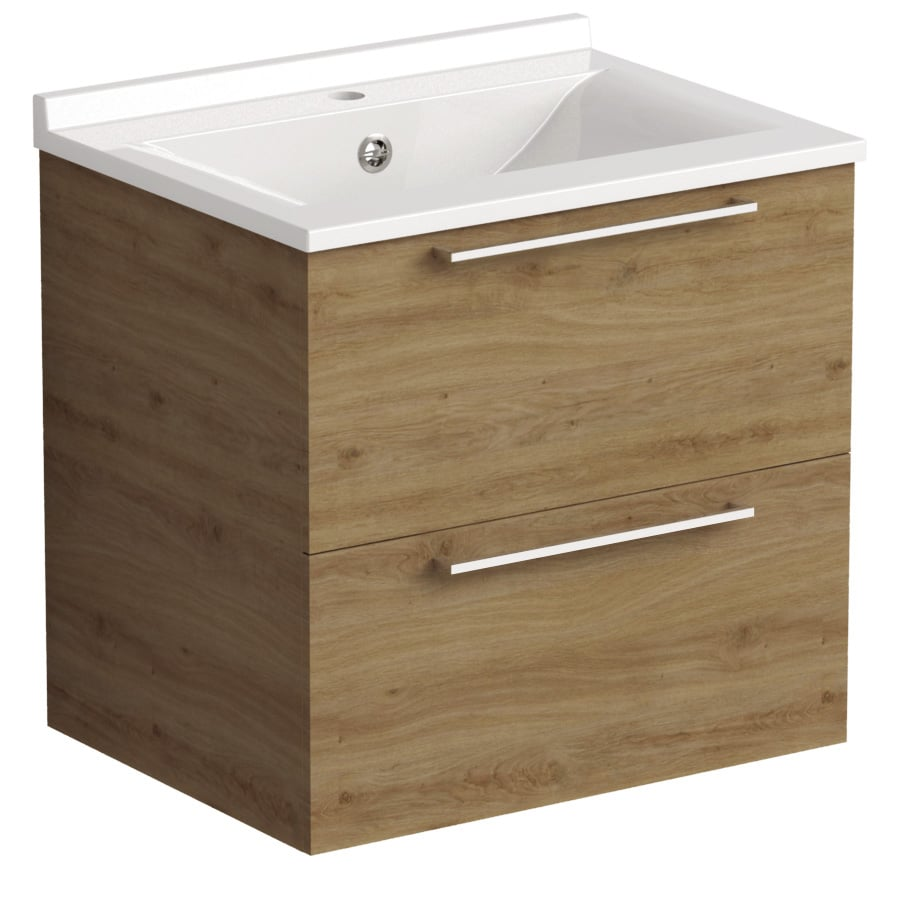 Akido 600 2 Drawer Unit Cortina with SMO Basin