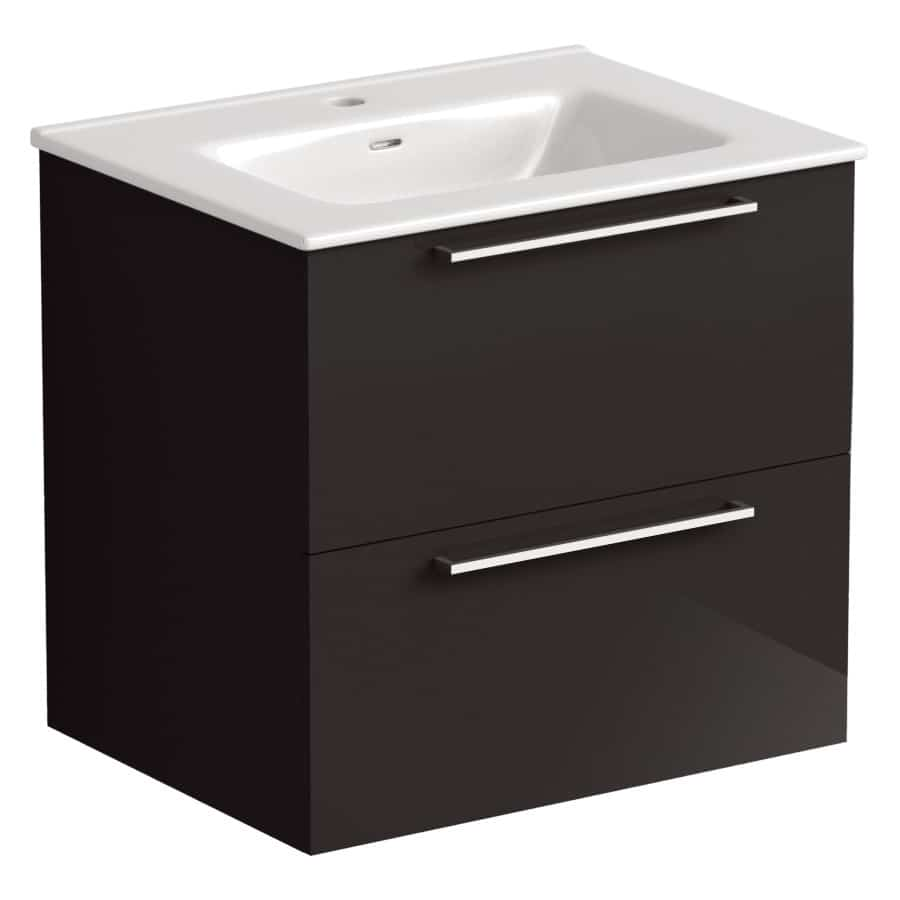 Akido 600 2 Drawer Unit Stardust with Boss Basin