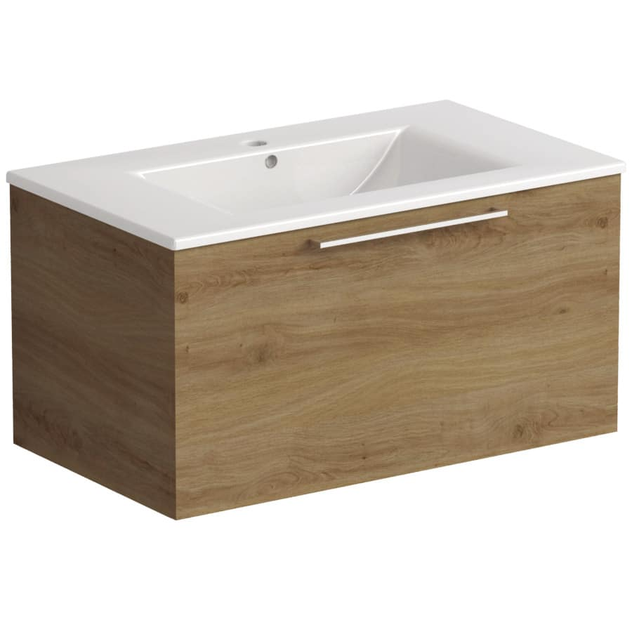 Akido 800 1 Drawer Unit Cortina with Akido Basin
