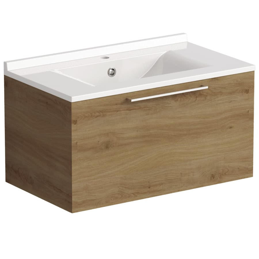 Akido 800 1 Drawer Unit Cortina with SMO Basin