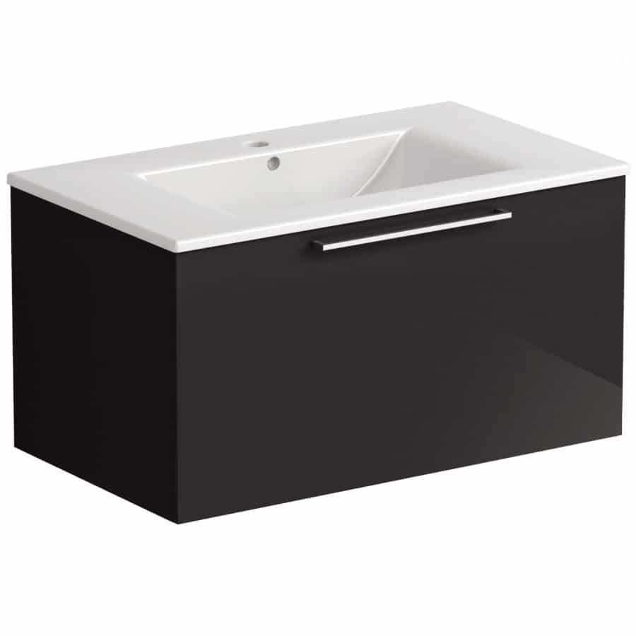 Akido 800 1 Drawer Unit Stardust with Akido Basin