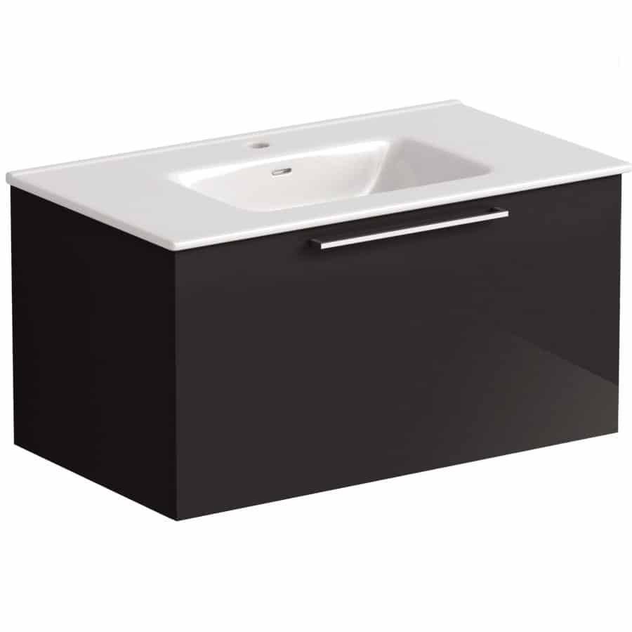 Akido 800 1 Drawer Unit Stardust with Boss Basin