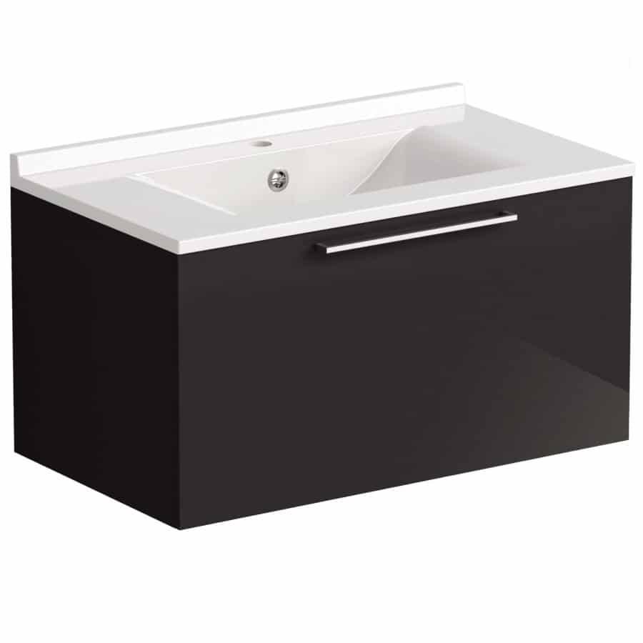 Akido 800 1 Drawer Unit Stardust with SMO Basin