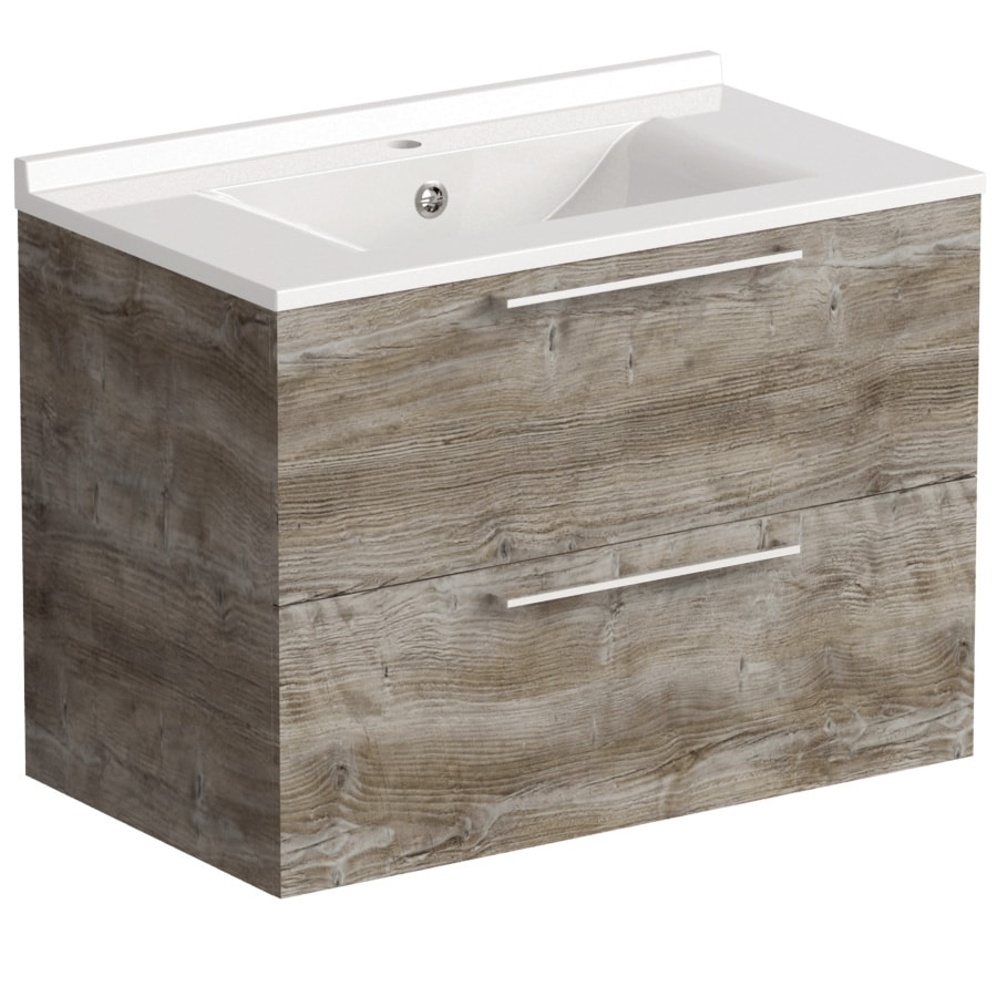Akido 800 2 Drawer Unit Bosco with SMO Basin
