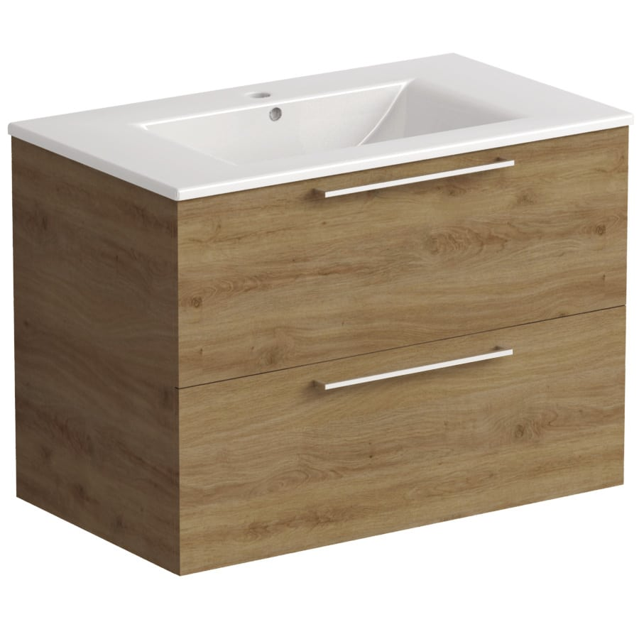 Akido 800 2 Drawer Unit Cortina with Akido Basin