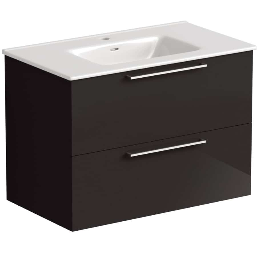 Akido 800 2 Drawer Unit Stardust with Boss Basin