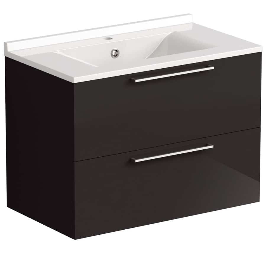 Akido 800 2 Drawer Unit Stardust with SMO Basin