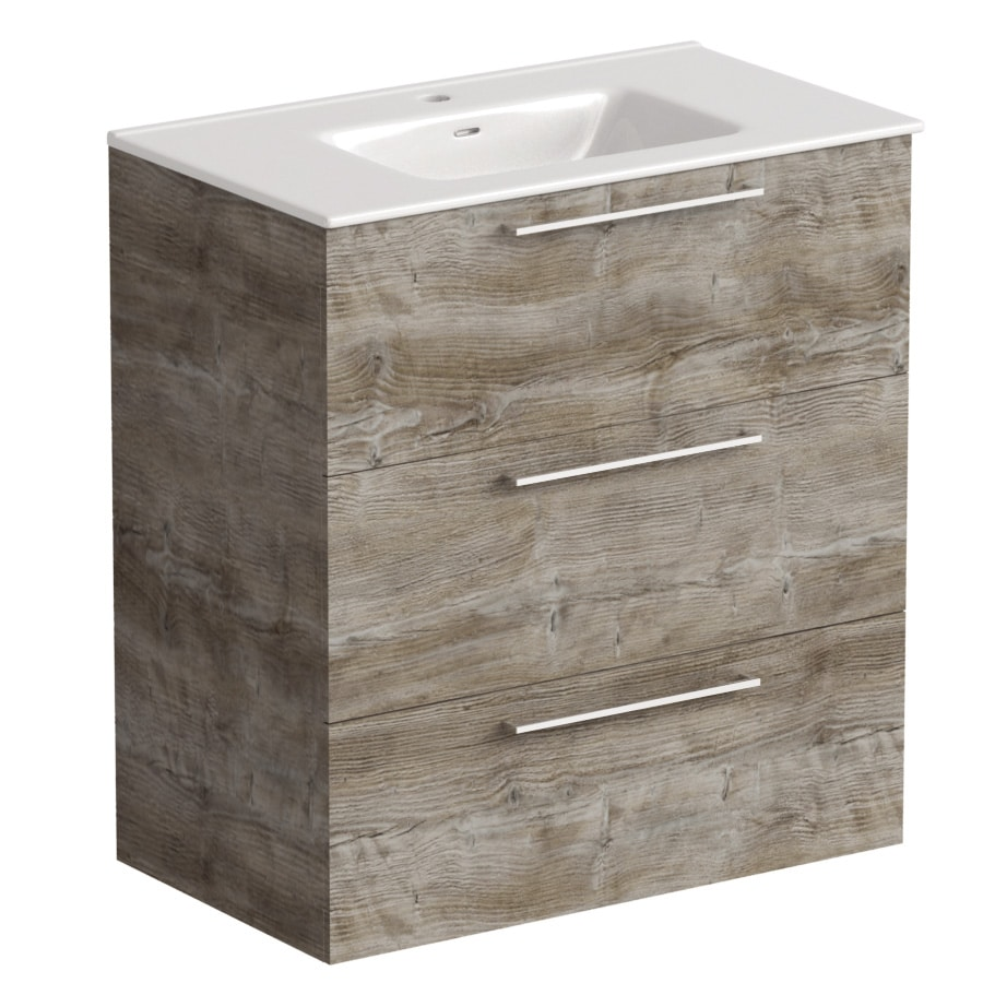 Akido 800 2 Drawer Unit Bosco with Boss Basin