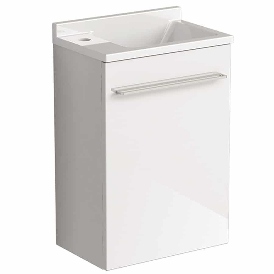 Mambo Basin Wall Version Gloss White