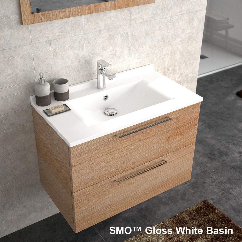 SMO Gloss White Basin