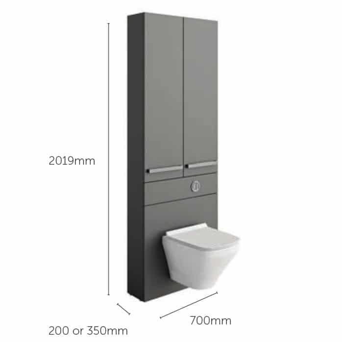 Tall WC Units