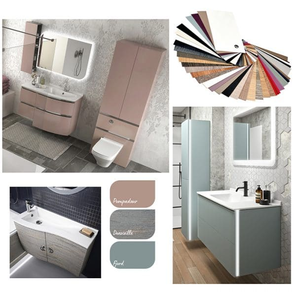 Ambiance Bain Bathroom Colours and Finishes