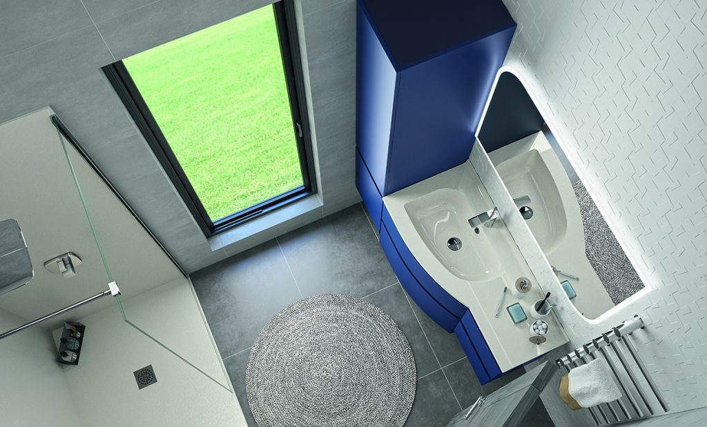 Optimising the space in your bathroom