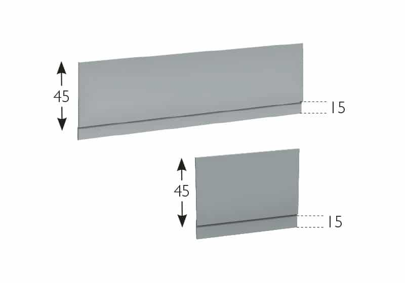 Standard Front and End Bath Panels