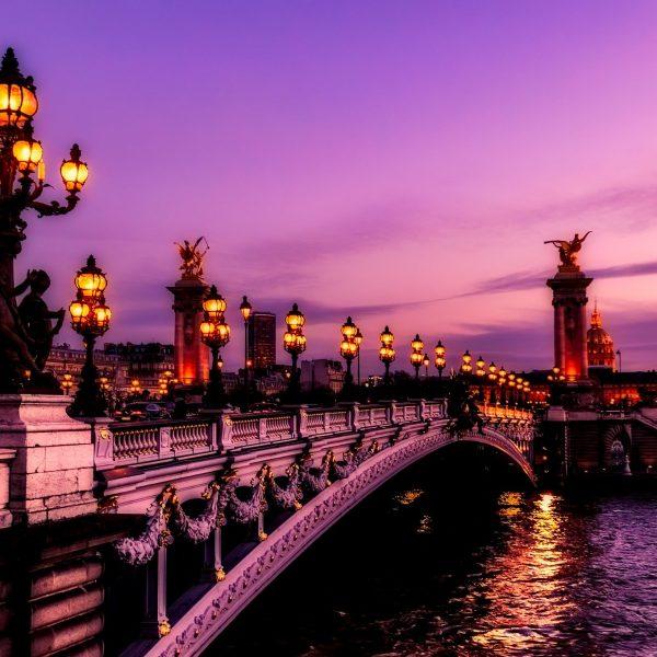 Paris - Bridge over the Seine